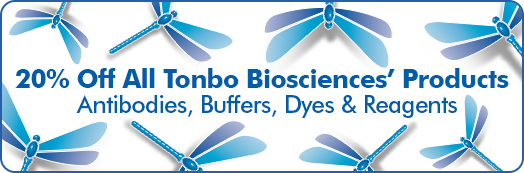 20% Off All Tonbo Biosciences' Products