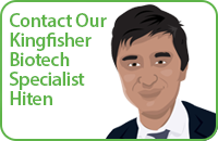 Contact Our Kingfisher Biotech Specialist Hiten