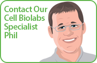 Contact Our Cell Biolabs Specialist, Phil