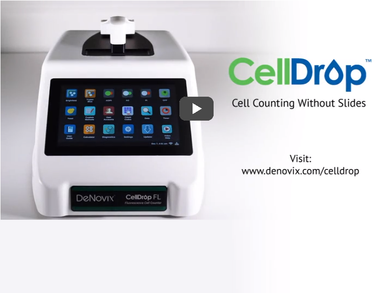 Video: CellDrop automated cell counter