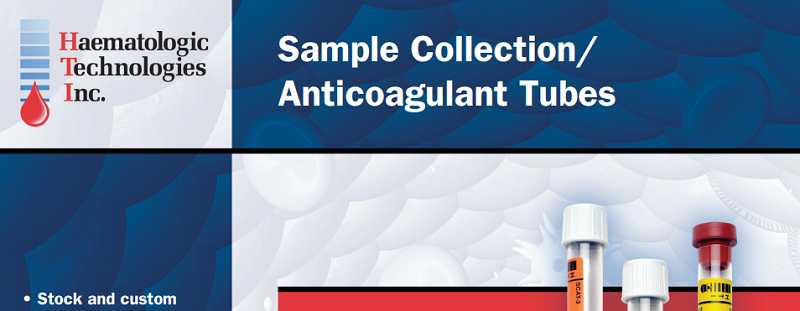 Download blood and sample collection tube flyer