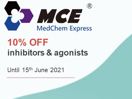 10% off agonists and inhibitors