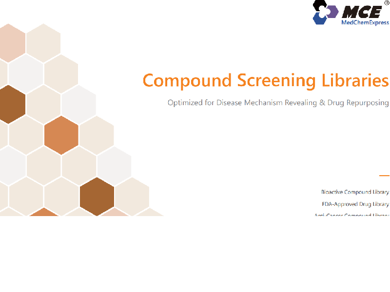 Download compound screening libraries brochure