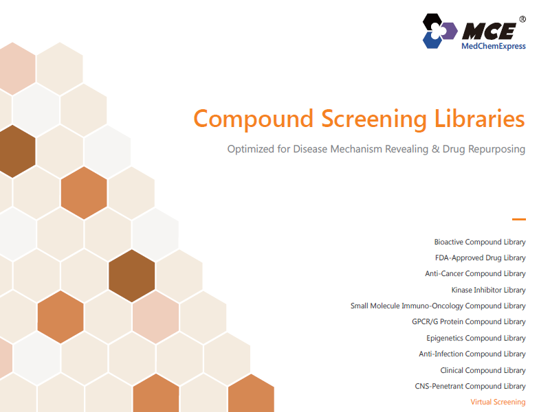 Download the MedChemExpress screening libraries brochure