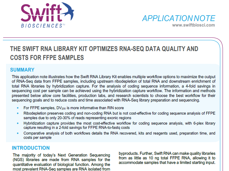 Download the Swift RNA-seq application note