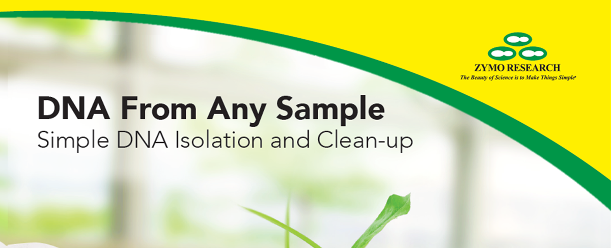 Download the Zymo Research DNA isolation brochure
