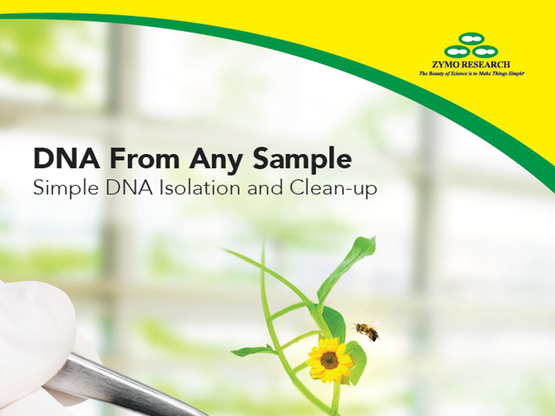 Download the DNA isolation brochure